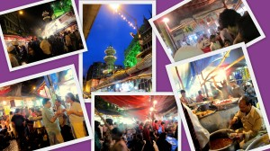 Minara masjid street food