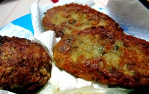 mutton pattice n aloo tikki