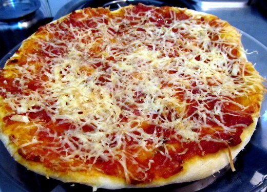 9 inch margarita pizza