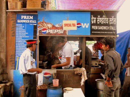Chai at Prem Sandwich Stall