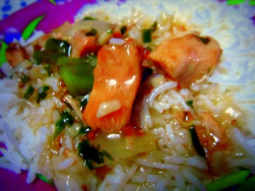 Chicken stewed rice