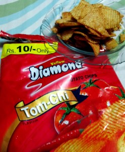 Yellow Diamond Potato chips - Tom Chi