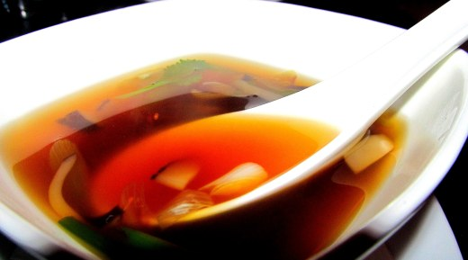 Chili lemon soup