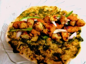 Grilled chicken filling