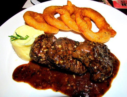 Three Lion's Steak & Chips