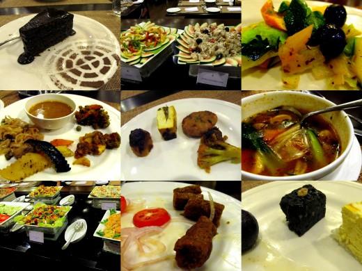 Dinner at Taj