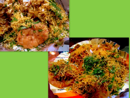 bhel n sev puri collage