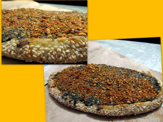 Spinach Pide