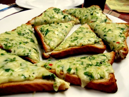 Chili Cheese Toast