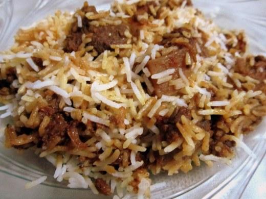 Mutton Biryani - using Shan Bombay Biryani Masala