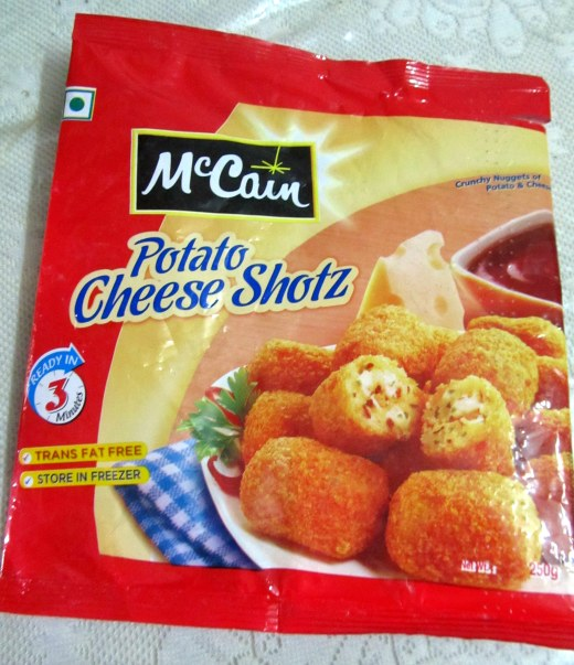 Potato Cheese Shotz - pack shot