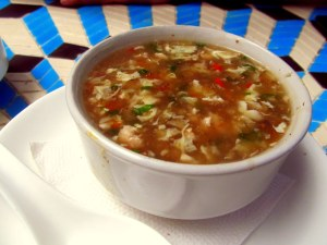 Chicken Manchow soup - small