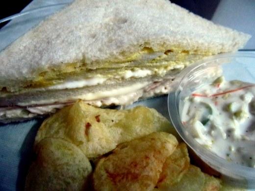 Non veg club sandwich - 1 piece