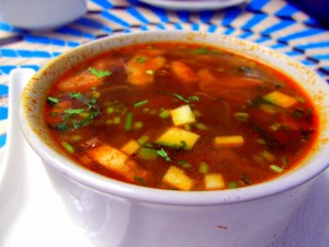 Veg Tom Yum soup - small
