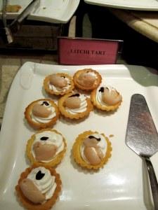 litchi tart
