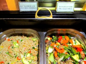 veg Chinese counter