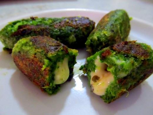 Spinach n Cheese Croquettes