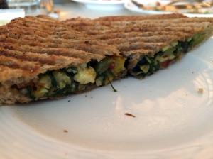 Medditerranean sandwich
