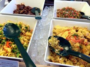 veg salad spread pic