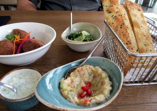 Babaganoush Tabbouleh and Lamb Kibbeh
