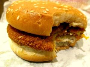 Crispy Veg burger